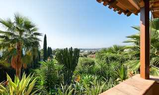 Magnificent rustic-style luxury villa with breath-taking sea and mountain views - Golf Valley, Nueva Andalucia, Marbella 7249