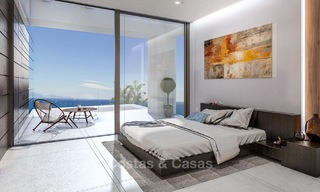 Eye catching new-built modern luxury villa with panoramic sea views for sale, close to beach, Manilva, Costa del Sol 7303