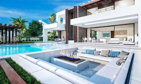 Eye catching new-built modern luxury villa with panoramic sea views for sale, close to beach, Manilva, Costa del Sol 7304