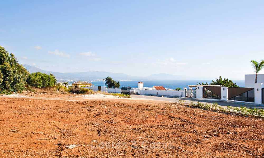 Eye catching new-built modern luxury villa with panoramic sea views for sale, close to beach, Manilva, Costa del Sol 7307