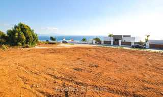 Eye catching new-built modern luxury villa with panoramic sea views for sale, close to beach, Manilva, Costa del Sol 7309