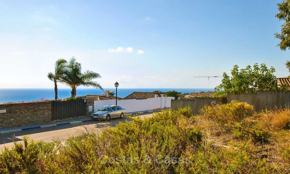 Eye catching new-built modern luxury villa with panoramic sea views for sale, close to beach, Manilva, Costa del Sol 7310