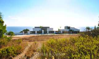 Eye catching new-built modern luxury villa with panoramic sea views for sale, close to beach, Manilva, Costa del Sol 7316