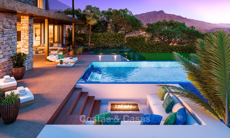 Eco-friendly luxury villas with breath taking sea and valley views for sale - Benahavis, Marbella 7490