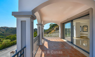 Bargain! Renovated Andalusian style villa with stunning mountain views for sale, Nueva Andalucia, Marbella 7582