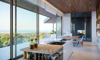 Stunning new-built contemporary villa with breath-taking sea and valley views for sale, Benahavis, Marbella 7638