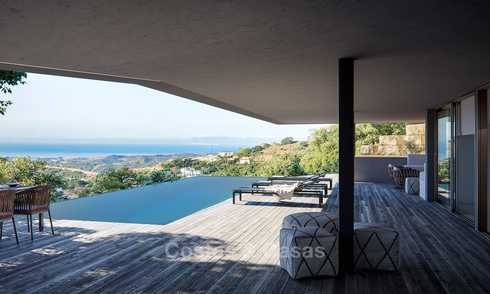 Stunning new-built contemporary villa with breath-taking sea and valley views for sale, Benahavis, Marbella 7640