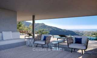 Stunning new-built contemporary villa with breath-taking sea and valley views for sale, Benahavis, Marbella 7641