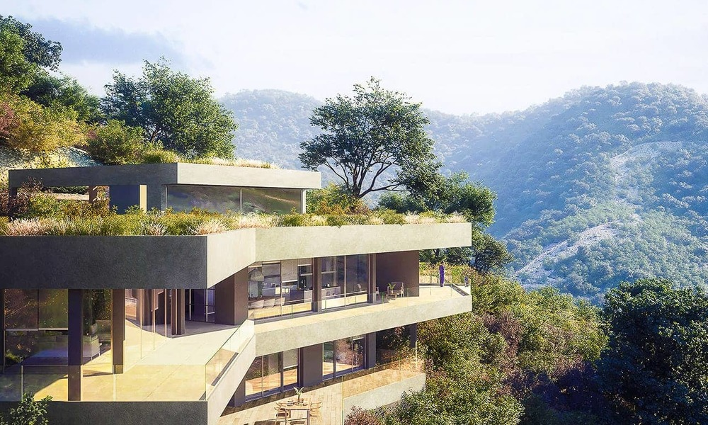 Stunning new-built contemporary villa with breath-taking sea and valley views for sale, Benahavis, Marbella 7646