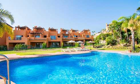 Recently refurbished Andalusian style townhouse near golf course for sale, Benahavis, Marbella 7669