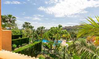 Recently refurbished Andalusian style townhouse near golf course for sale, Benahavis, Marbella 7670