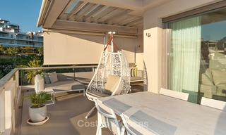 Spacious, bright and modern penthouse apartment for sale with golf and sea views in Marbella - Benahavis 7721