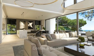 New contemporary luxury villas with sea views for sale, in an exclusive urbanisation - Benahavis, Marbella 7745