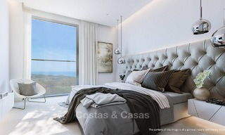 New modern frontline golf apartments with sea views for sale in a luxury resort - Mijas, Costa del Sol 7786