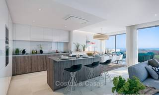New modern frontline golf apartments with sea views for sale in a luxury resort - Mijas, Costa del Sol 7788