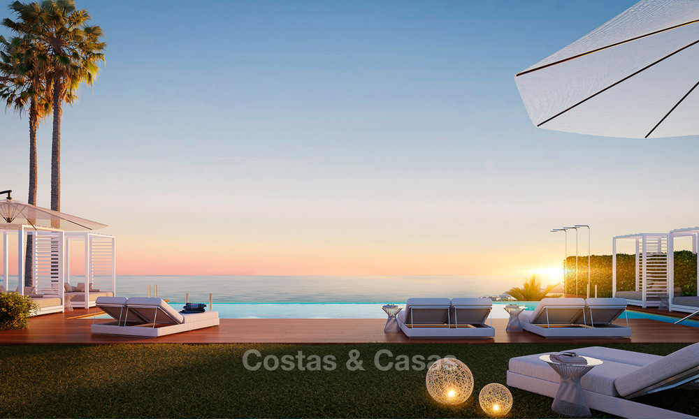 New modern frontline golf apartments with sea views for sale in a luxury resort - Mijas, Costa del Sol 8957
