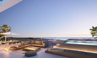 New modern frontline golf apartments with sea views for sale in a luxury resort - Mijas, Costa del Sol 8962