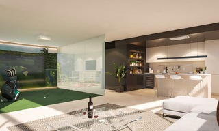New modern frontline golf apartments with sea views for sale in a luxury resort - Mijas, Costa del Sol 8963