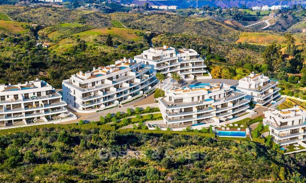 New modern frontline golf apartments with sea views for sale in a luxury resort - Mijas, Costa del Sol 8966