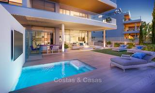 New modern frontline golf apartments with sea views for sale in a luxury resort - Mijas, Costa del Sol 8968