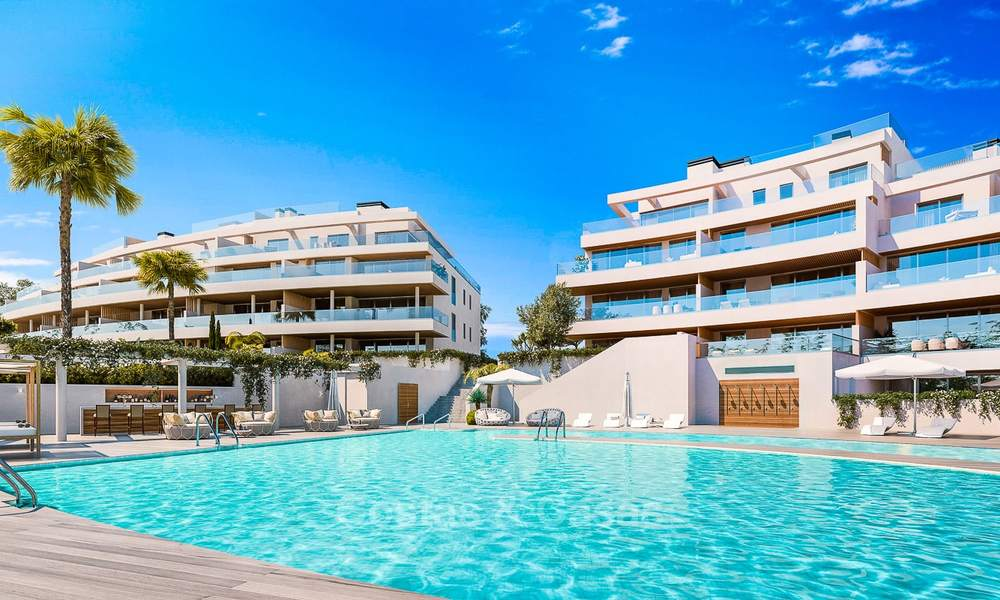 New modern frontline golf apartments with sea views for sale in a luxury resort - Mijas, Costa del Sol 8971