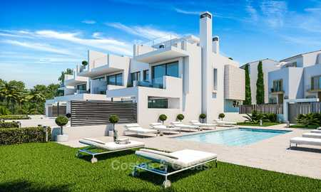 Attractive contemporary townhouses in a new boutique development for sale, beach side Estepona 7790