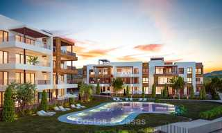 New avant-gardist apartments for sale, walking distance from the beach and amenities, Fuengirola, Costa del Sol 7822