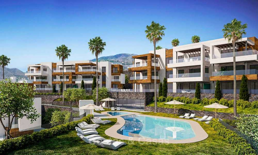 New avant-gardist apartments for sale, walking distance from the beach and amenities, Fuengirola, Costa del Sol 7834