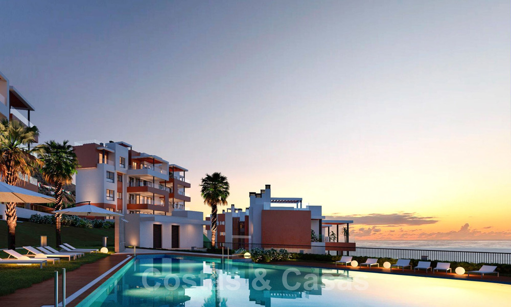 New avant-gardist apartments for sale, walking distance from the beach and amenities, Fuengirola, Costa del Sol 28729