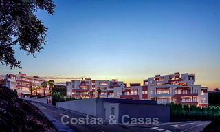 New avant-gardist apartments for sale, walking distance from the beach and amenities, Fuengirola, Costa del Sol 28730