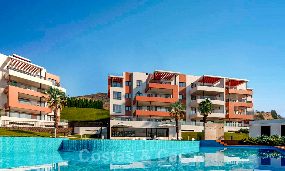 New avant-gardist apartments for sale, walking distance from the beach and amenities, Fuengirola, Costa del Sol 28731