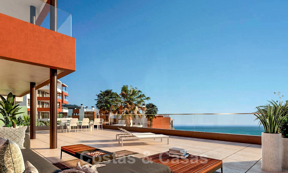 New avant-gardist apartments for sale, walking distance from the beach and amenities, Fuengirola, Costa del Sol 28732