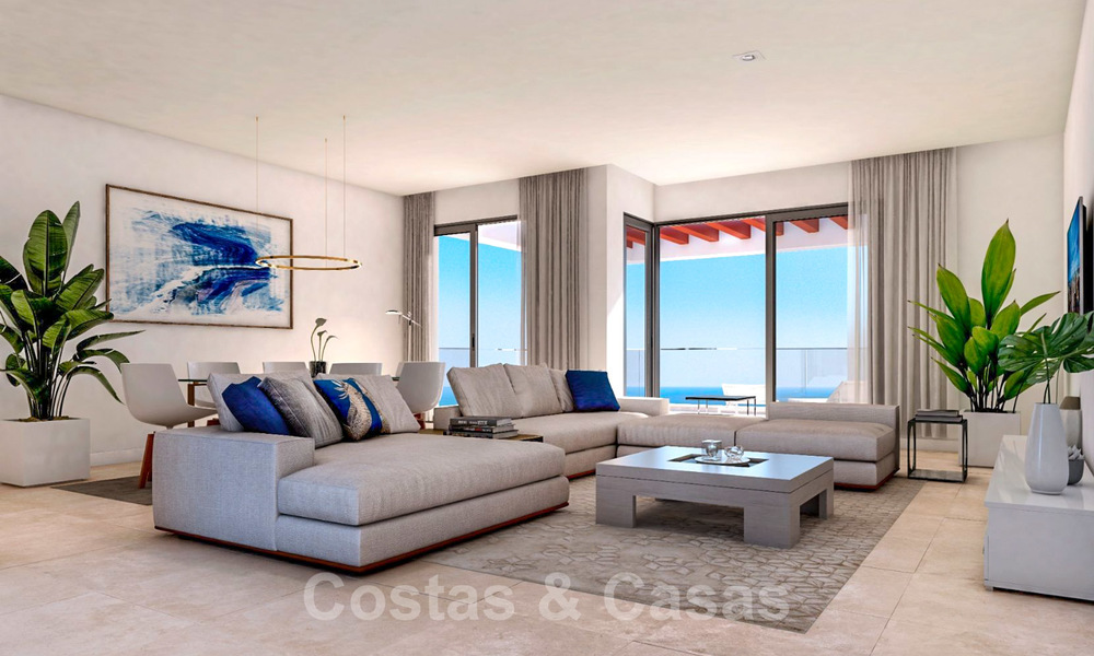 New avant-gardist apartments for sale, walking distance from the beach and amenities, Fuengirola, Costa del Sol 28733