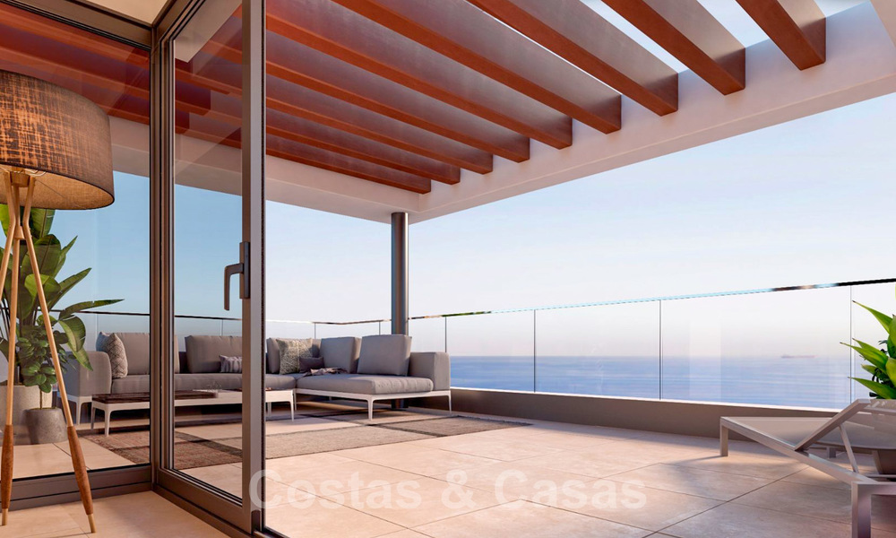 New avant-gardist apartments for sale, walking distance from the beach and amenities, Fuengirola, Costa del Sol 28737