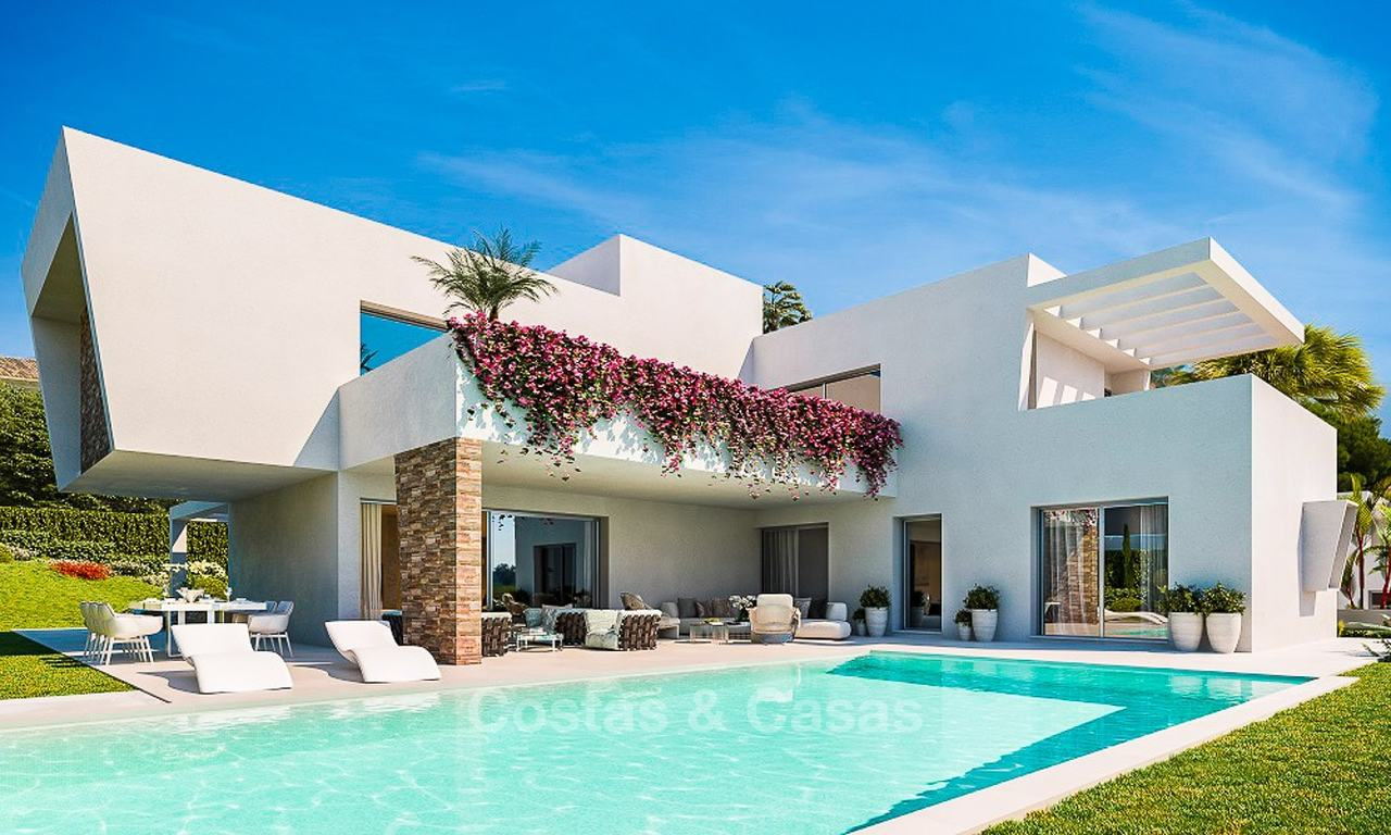 Ideally located and attractively priced modern luxury villas for sale, Estepona - Marbella 7891