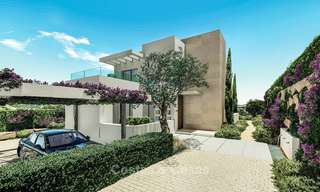 Beautiful, modern and luxurious first line golf villas with panoramic sea and mountain views for sale, Estepona 7925