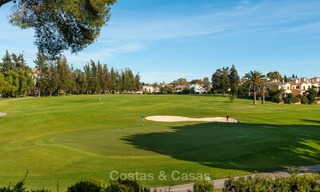 Semi detached house for sale, first line golf, in a gated complex in Guadalmina Alta in Marbella 7937