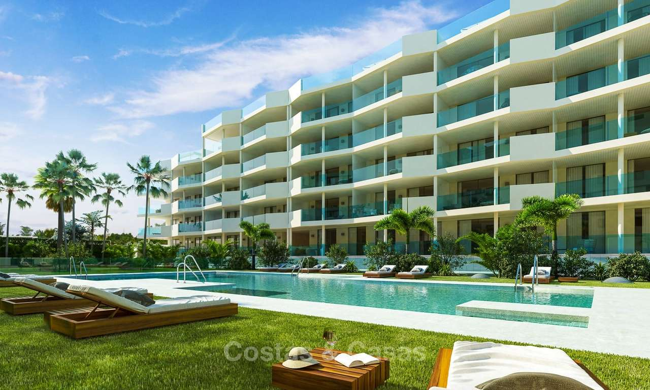 New spacious modern apartments for sale, Fuengirola, Costa del Sol 8043
