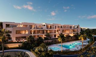 Delightful modern front-line golf apartments for sale in an exclusive new complex, Casares, Costa del Sol 8028