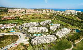 Delightful modern front-line golf apartments for sale in an exclusive new complex, Casares, Costa del Sol 8038