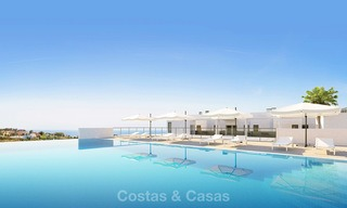 Chic new modern apartments with breath taking sea views for sale, Manilva, Costa del Sol 8139