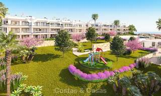Chic new modern apartments with breath taking sea views for sale, Manilva, Costa del Sol 8140
