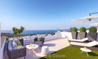 Chic new modern apartments with breath taking sea views for sale, Manilva, Costa del Sol 8142