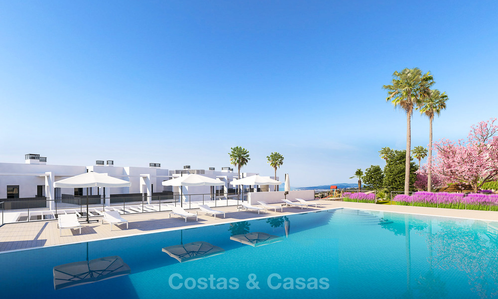 Chic new modern apartments with breath taking sea views for sale, Manilva, Costa del Sol 8143