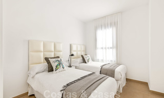 Chic new modern apartments with breath taking sea views for sale, Manilva, Costa del Sol 23751