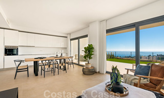 Chic new modern apartments with breath taking sea views for sale, Manilva, Costa del Sol 23753