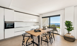 Chic new modern apartments with breath taking sea views for sale, Manilva, Costa del Sol 23754