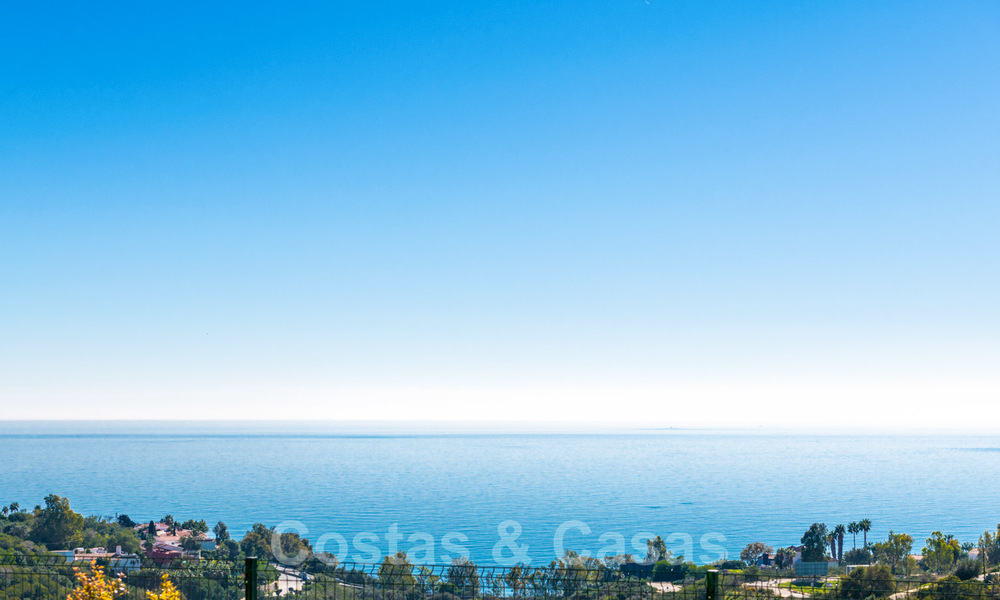 Chic new modern apartments with breath taking sea views for sale, Manilva, Costa del Sol 23755