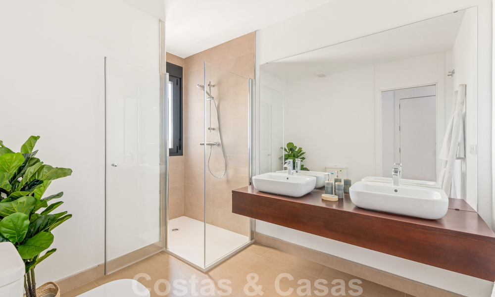 Chic new modern apartments with breath taking sea views for sale, Manilva, Costa del Sol 23756