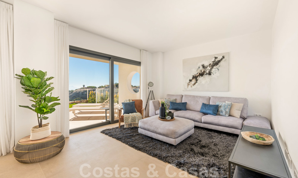Chic new modern apartments with breath taking sea views for sale, Manilva, Costa del Sol 23758